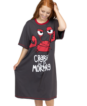 Load image into Gallery viewer, Crabby In Morning Nightshirt