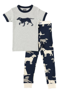 Lab Kid's Short Sleeve PJ's
