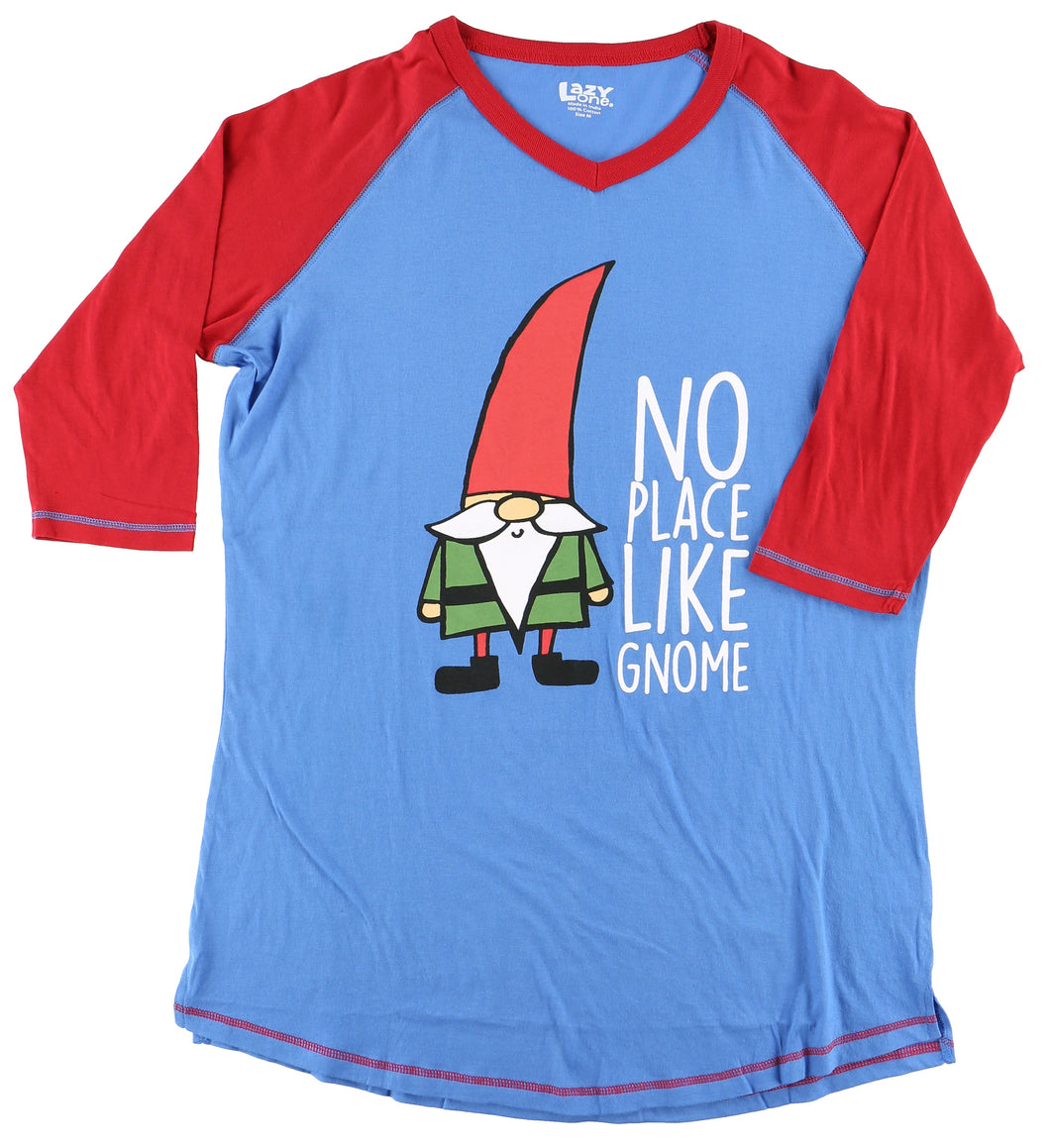 Lazy One - No Place Like Gnome - Tall Pj T
