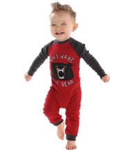 Load image into Gallery viewer, Don't Wake Bear Infant Union Suit