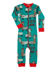 Load image into Gallery viewer, Llama Infant Union Suit