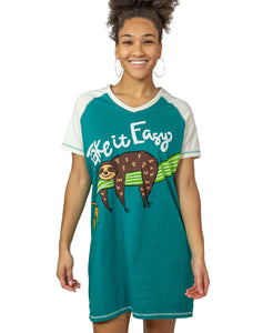 Sloth V-Neck Nightshirt