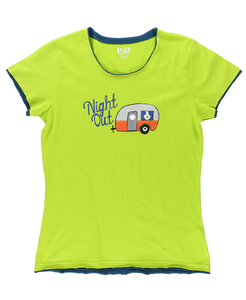 Night Out Women's Camper Fitted Tee