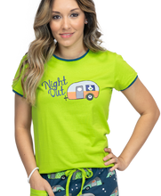 Load image into Gallery viewer, Night Out Women's Camper Fitted Tee
