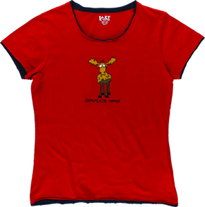Lazy One - Chocolate Moose -Junior Fitted Tee