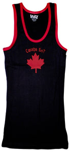 Lazy One - Canada Eh? Red/Blk - Tank Top