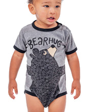 Load image into Gallery viewer, Bear Hug Grey Infant Creeper