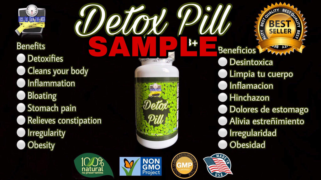 Detox Pill 5 Day SAMPLE
