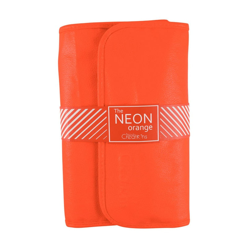 Neon Orange 24PC Brush Set