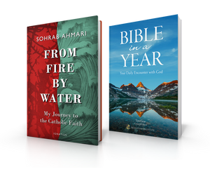Bundle: From Fire, By Water & Bible in a Year