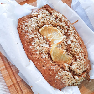 BANANA LEMON CHIA LACTATION LOAF