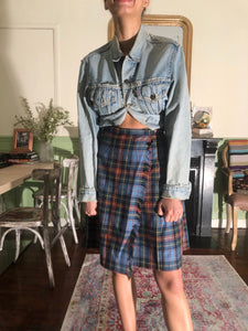 UNSIGNED plaid skirt