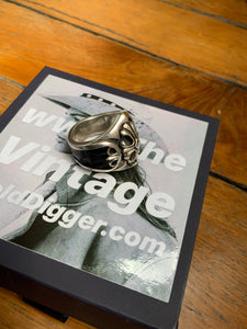 CHROME HEART metal sterling silver ring