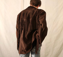 Charger l'image dans la galerie, UNSIGNED leather fringe jacket