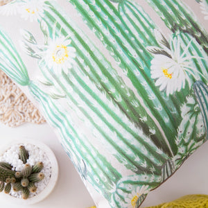 Cactus Flower Cushion II