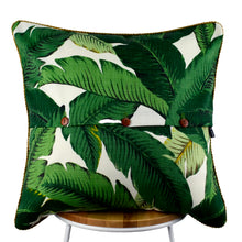 Load image into Gallery viewer, Bahama Palm Indoor-Outdoor Cushion
