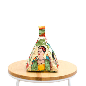 Frida's Garden Tea Fabric Doorstop