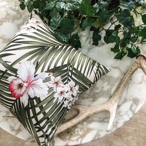 Hawaiian Orchid Cushion