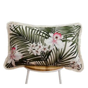 Hawaiian Orchid Cushion II