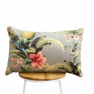 Hibiscus Stone Indoor-Outdoor Cushion II