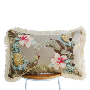 Hibiscus Sand Cushion