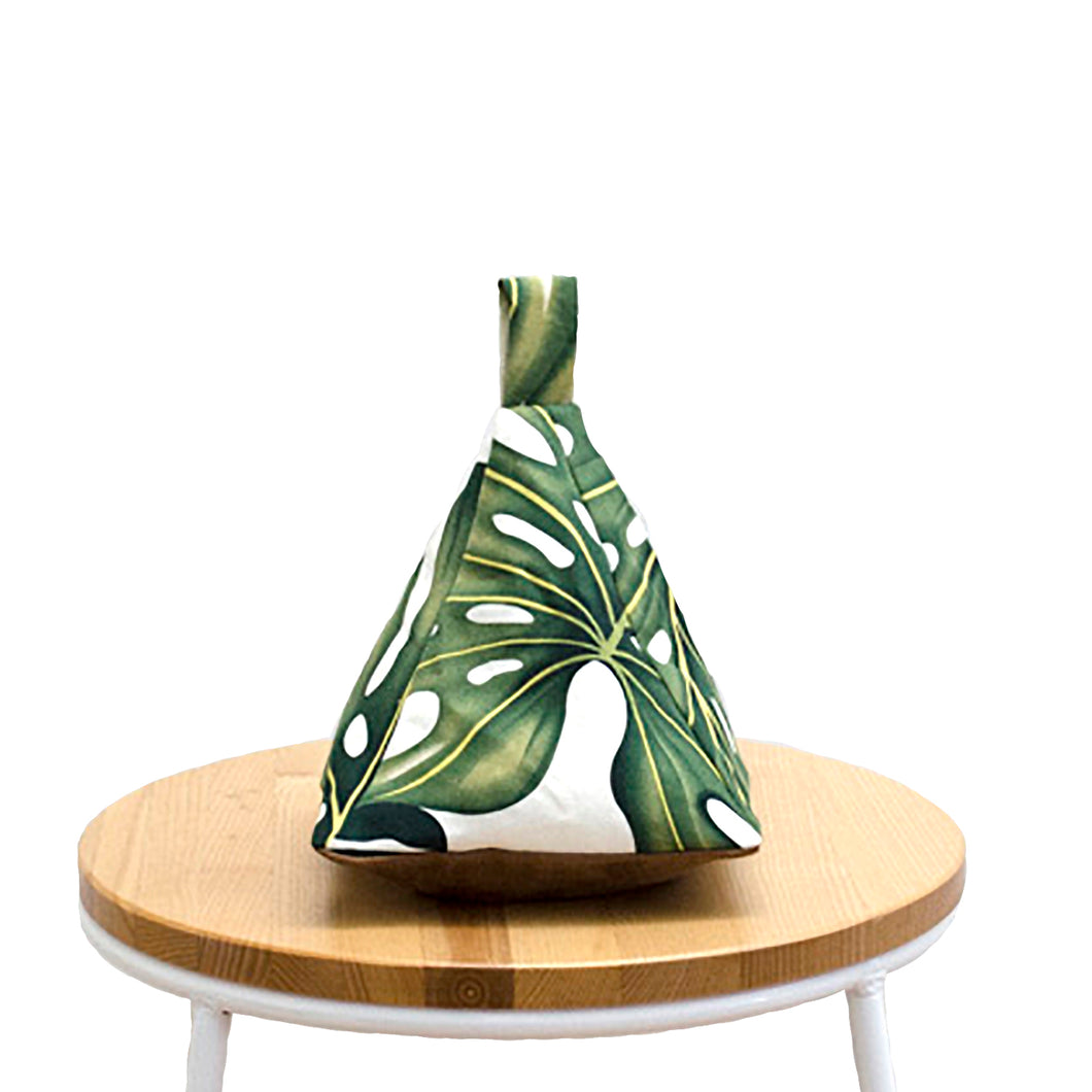 Monstera Fabric Doorstop