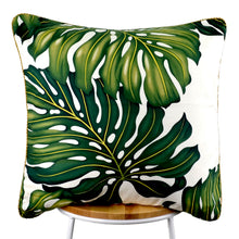 Load image into Gallery viewer, Monstera Leaf Cushion
