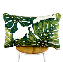 Load image into Gallery viewer, Monstera Leaf Cushion II