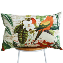 Load image into Gallery viewer, Tropical Parakeet Cushion