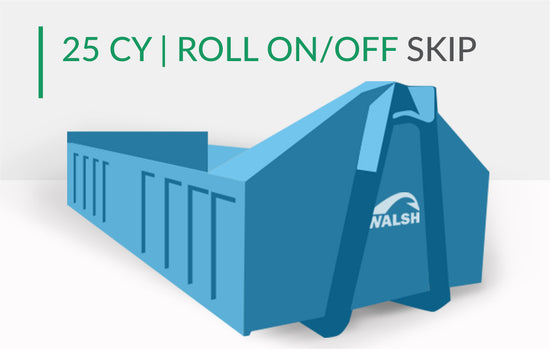 25 CY | Roll On/Off Skip