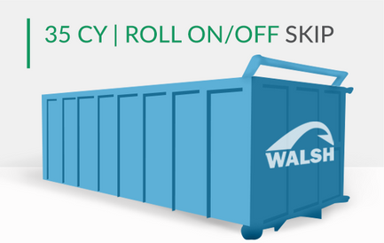 35 CY | Roll On/Off Skip