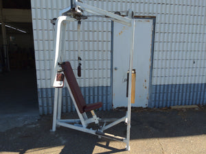 Pec Fly Machine with Foot Assist