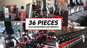 Snap Fitness Cybex Full Gym Package