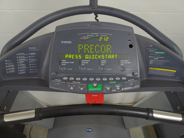 Precor C956i Treadmill with TV