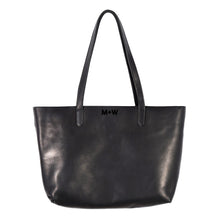 The Genuine Leather Tote // Black