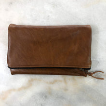 The Genuine Leather Fold Over Clutch // Romans 12:9