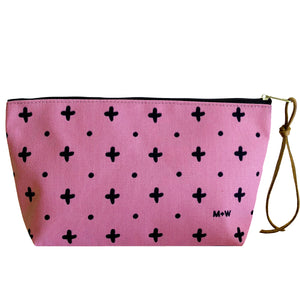 The Recycled Poly Pouch // Blush