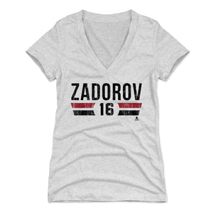 Nikita Zadorov Women's V-Neck T-Shirt | 500 LEVEL