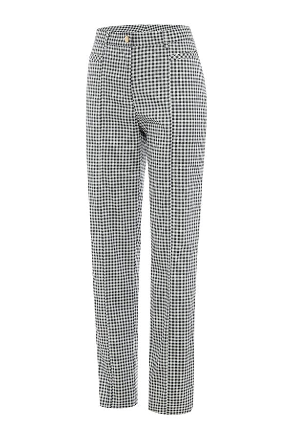 Cotton Check Long Pant FINAL SALE