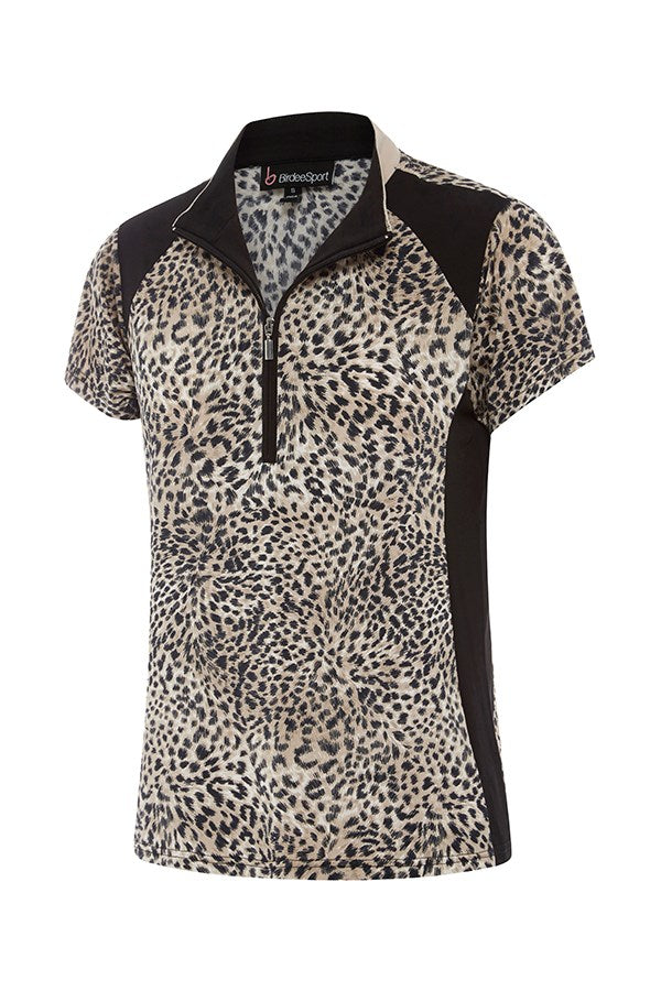 Neo Cheetah Short Sleeve Top