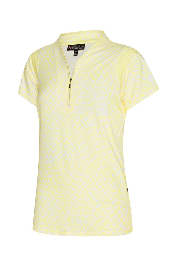 Dew Drops Short Sleeve Piping Top