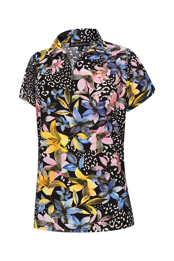 Flora Short Sleeve Top