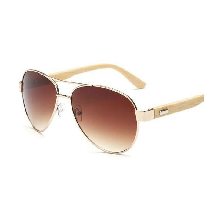 Original Pilot Bamboo Sunglasses