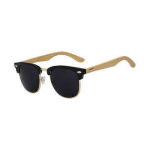 Clubmaster Bamboo Sunglasses
