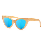 Cat Eye Sunglasses with blue color lens