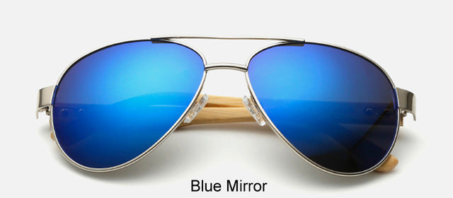 Original Pilot Sunglasses with blue color lens