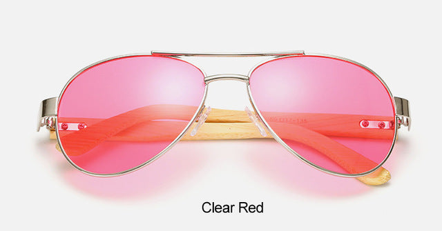 Original Pilot Sunglasses with pink color lens