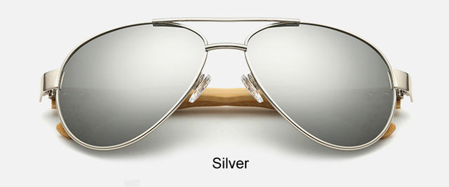 Original Pilot Sunglasses with silver color lens