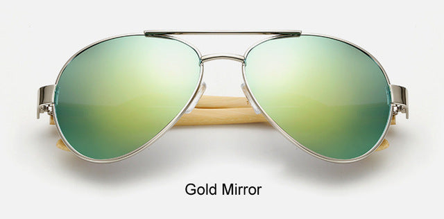 Original Pilot Sunglasses with gold color lens