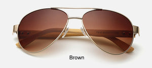 Original Pilot Sunglasses with brown color lens